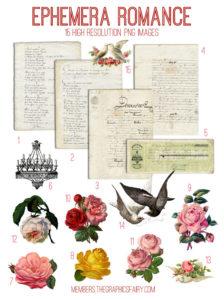 ephemera-romance-image-list