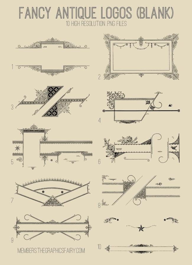 antique_bw_logos_image_list_graphicsfairy