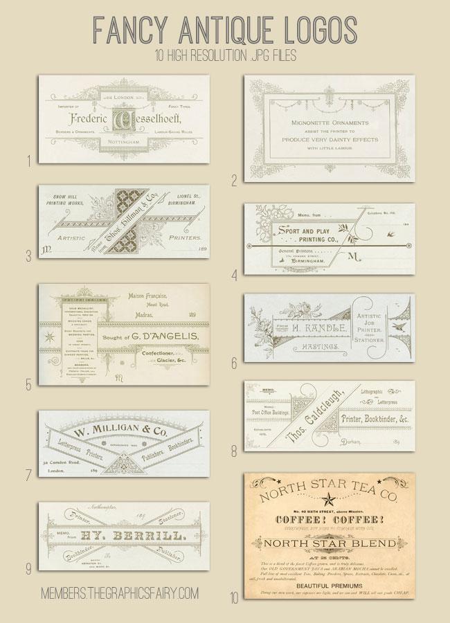 antique_logos_image_list_graphicsfairy