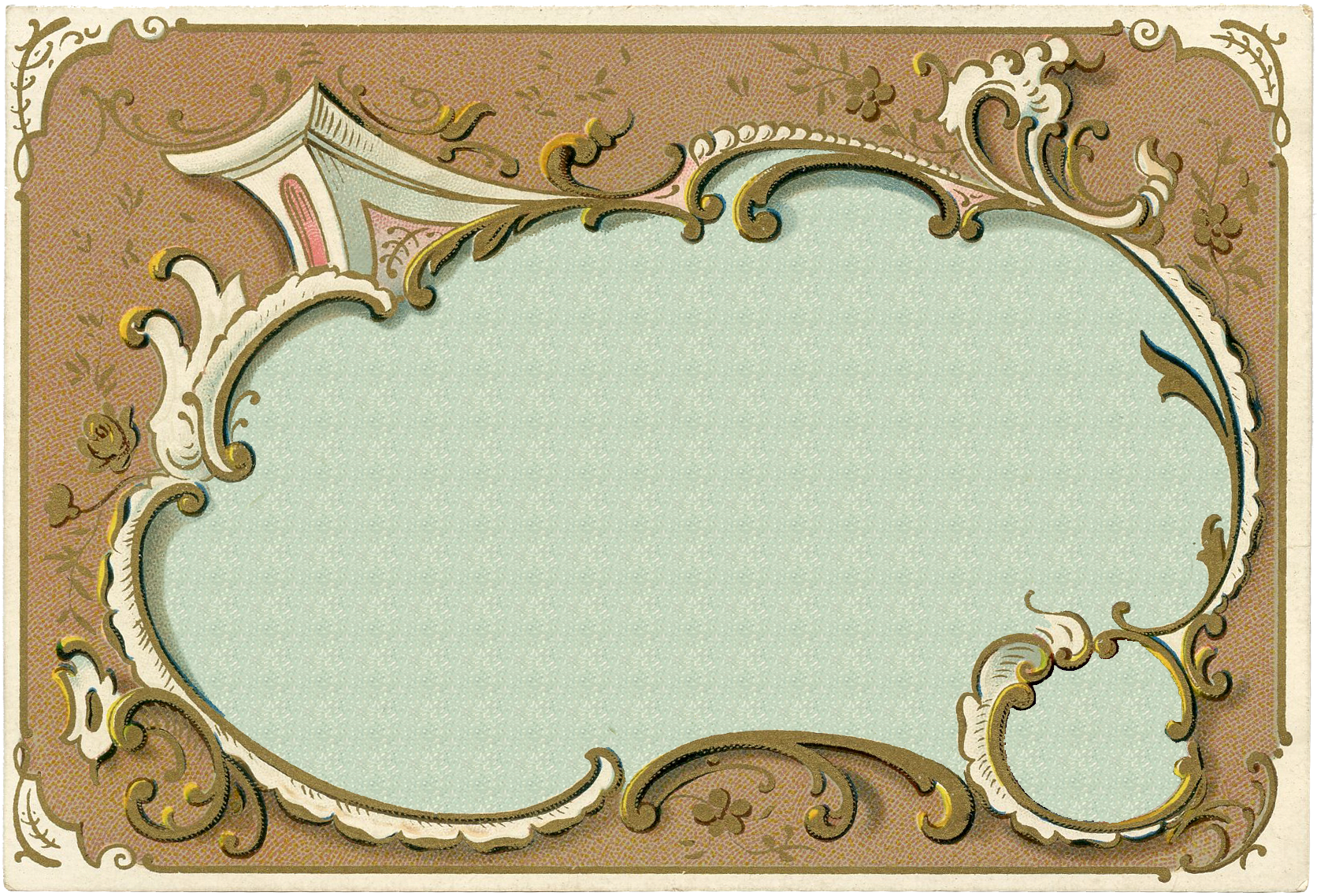 Romantic French Frames