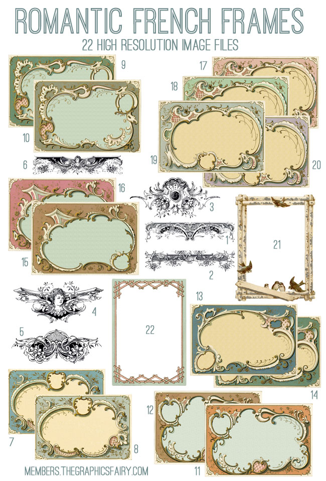 French_frames_image_list_graphicsfairy