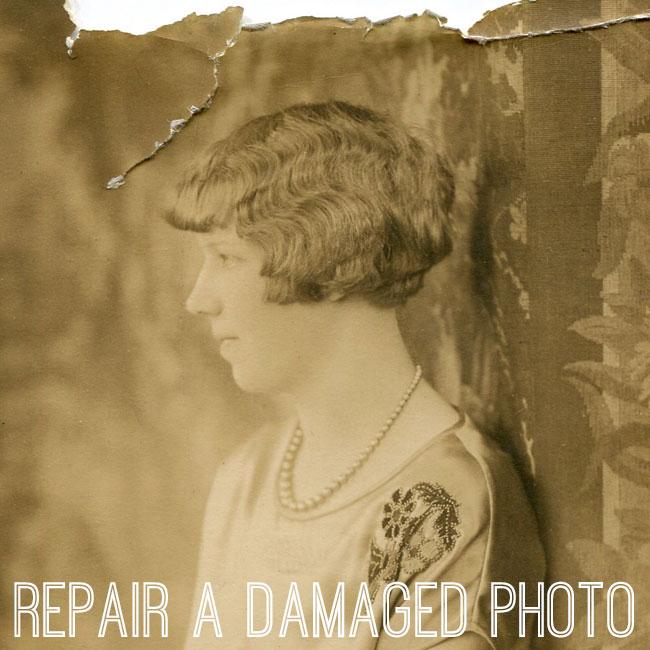 Repair A Damaged Photo