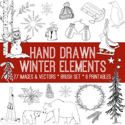 drawn_winter_elements_650x650