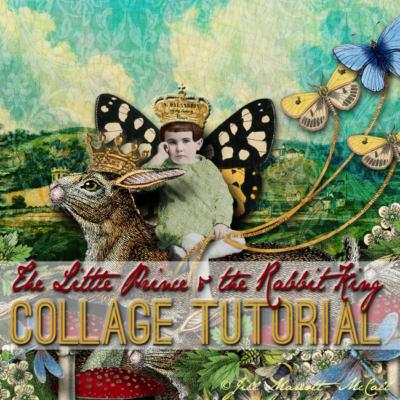 The Little Prince & The Rabbit King- Jill Marcott McCall - Graphics Fairy Premium Membership