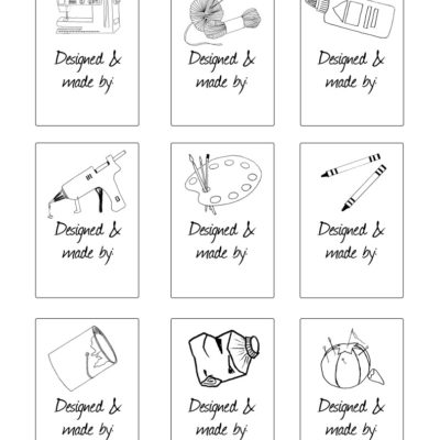 thumbnail of Printable_tags_collage_sheet_bw_graphicsfairy