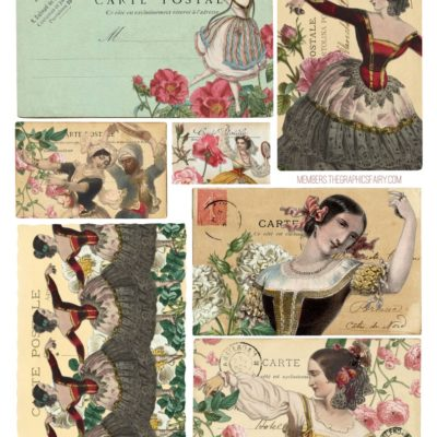 thumbnail of postcards_gypsy_graphicsfairy