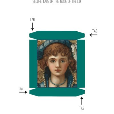 thumbnail of medieval_box_lid_printable_graphicsfairy