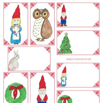 thumbnail of gnome_gift_tags_graphicsfairy